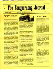 The Scuppernong Journal
