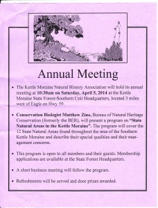 KMNHA Annual Meeting 2014
