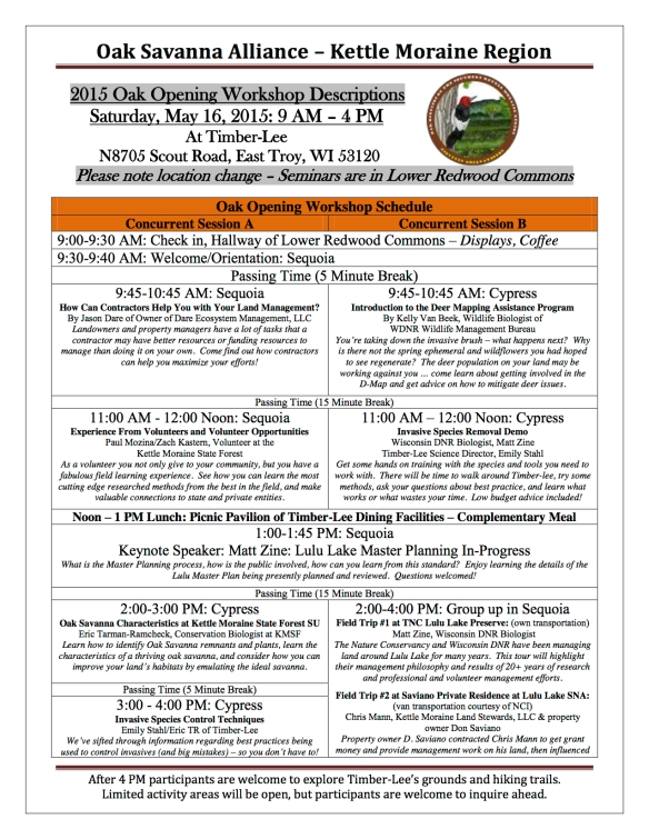 2015 OSA Oak Opening Workshop Flyer v4